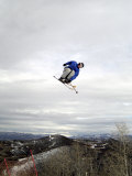Skier Photographic Print