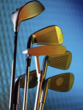 Close-up of Golf Clubs Photographic Print