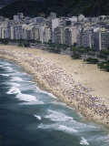 Copacabana Beach, Rio de Janeiro Brazil Impressão fotográfica