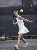 Woman Tennis Player Photographic Print