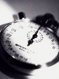 Close-up of a Stopwatch Photographic Print