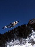 Snowboarder, Wolf Creek, CO Photographic Print by Kurt Olesek