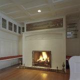 Fireplace and Hardwood Floors Photographic Print