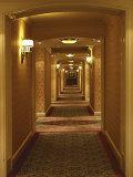 Hotel Hallway Photographic Print