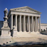 Supreme Court Building, Washington DC Photographic Print by Tom Dietrich