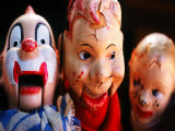 Old Puppet Dolls Photographic Print by Tim Lynch