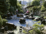 Kannawa Ryokan Hot Springs Resort, Beppu, Japan Photographic Print