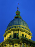State Capitol, Springfield, Illinois, USA Photographic Print