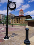 Old State Capitol Plaza, Springfield, Illinois, USA Photographic Print