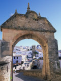 Entry to Ronda's Jewish Quarter, Andalucia, Spain Photographic Print by John & Lisa Merrill