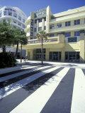 Lincoln Theater on Lincoln Road, South Beach, Miami, Florida, USA Fotografie-Druck von Robin Hill