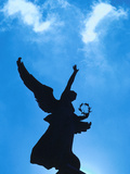 Angel Statue Under Blue Sky - Architecture Montreal Photographic Print