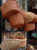 Basket Shop, Languedoc-Roussillon, France Photographic Print by Lisa S. Engelbrecht