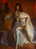 King's State Apartment and Portrait of King Louis XV, Versailles, France Stampa fotografica di Lisa S. Engelbrecht