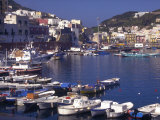 Port at Village of Ponza, Pontine Islands, Italy Photographic Print by Connie Ricca