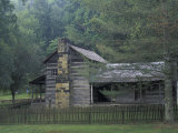 Dillion Ahser Cabin, Red Bird, Kentucky, USA Photographic Print by Adam Jones
