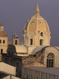 San Pedro Claver&#39;s Dome, Cartagena, Colombia Photographic Print by Greg Johnston