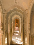 Hallway of The Palace of the Winds, India Photographic Print by Walter Bibikow