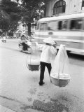 Delivery Woman, Hanoi, Vietnam Photographic Print by Walter Bibikow