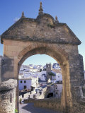 Entry to Jewish Quarter, Puerta de la Exijara, Ronda, Spain Photographic Print by John & Lisa Merrill