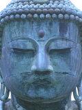 Great Buddha Detail, Kotokuji Temple, Kamakura, Japan Photographic Print by Rob Tilley