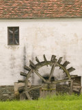 Vas Museum Village, Skansen, Western Transdanubia, Hungary Photographic Print by Walter Bibikow