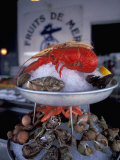 Fruits de Mer, St. Martin, Il De Re, France Photographic Print by Nik Wheeler