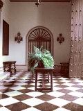 El Convento Hotel, Lobby, San Juan, Puerto Rico Fotografisk trykk av Greg Johnston