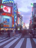 Shinjuku at Dusk, Tokyo, Japan Photographic Print by Rob Tilley