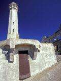 Lighthouse at Alcatraz Island, San Francisco, California, USA Photographic Print by William Sutton
