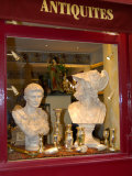 Antique Shop in Ile St. Louis, Paris, France Photographic Print by Lisa S. Engelbrecht