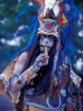 Mayan Rituals and Mystical Dances, Xcaret, Yucatan Peninsula, Mexico Photographic Print by Greg Johnston