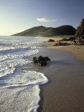 Atlantic Beach of St. Kitts, Caribbean Fotografie-Druck von Robin Hill