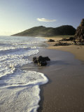 Atlantic Beach of St. Kitts, Caribbean Photographic Print by Robin Hill
