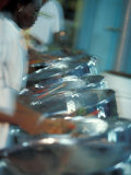 Steel Drums, Port of Spain, Trinidad, Caribbean Photographic Print by Greg Johnston