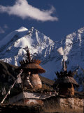 Chortens at Dolpo, Nepal Photographic Print by Vassi Koutsaftis