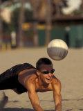 Volleyball, California, USA Fotografisk trykk av Lee Kopfler