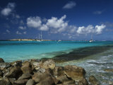 Orient Bay, St. Martin, Caribbean Photographic Print by Greg Johnston