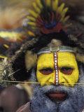Huli Wigman, Tari, Papua New Guinea, Oceania Photographic Print by Michele Westmorland