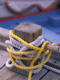 Knots Around Post, St. Thomas, Caribbean Photographic Print by Robin Hill