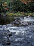 The 100 Mile Wilderness section of the Appalachian Trail, Maine, USA Fotografie-Druck von Jerry & Marcy Monkman
