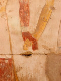 Wall Painting of Figures Holding Hands, Egypt Photographic Print by Michele Molinari