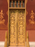 Temple Door, Laos Photographic Print by Gavriel Jecan