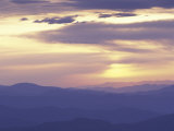 Sunrise from Clingman's Dome, Great Smoky Mountains National Park, Tennessee, USA Photographic Print by Adam Jones