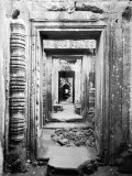 Doorways Preah Khan, Cambodia Photographic Print by Walter Bibikow
