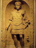 Tombstone of Roman Centurion, Colchester Museum, Essex, England Photographic Print by Nik Wheeler