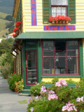 Storefront, Akaroa Peninsula, New Zealand Photographic Print by William Sutton