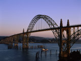 Yaquina Bay Bridge Newport Oregon USA Photographic Print