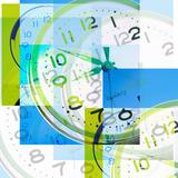Montage of Clocks Reprodukcja zdjęcia