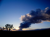 Storm Clouds Over Mojave Desert, CA Photographic Print by Gary Conner